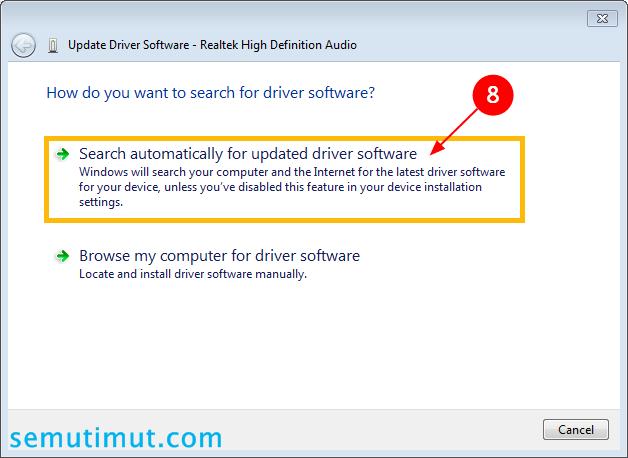 cara mengatasi laptop tidak ada suaranya windows 7