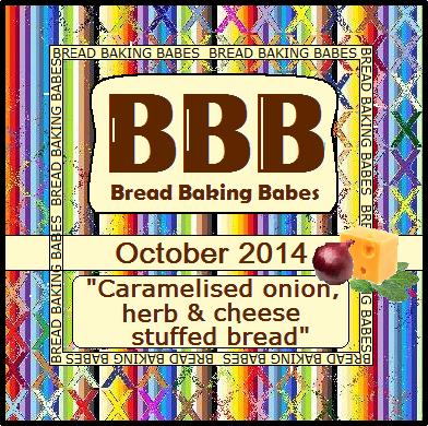 Bread Baking Babes October 2014 challenge