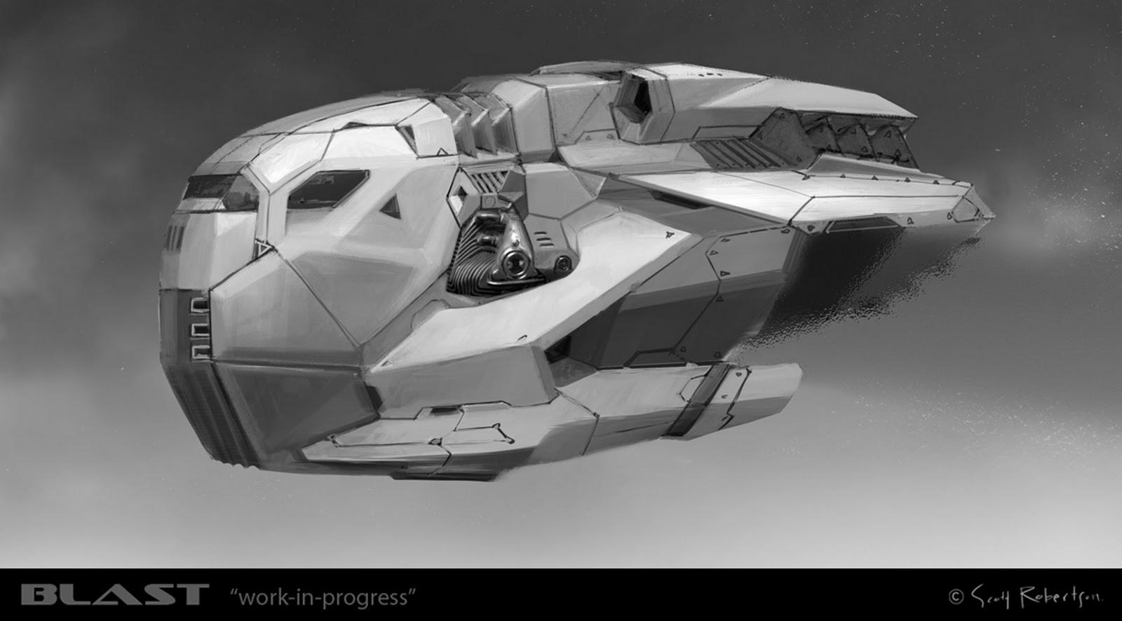 future rocket ship - HD1600×886