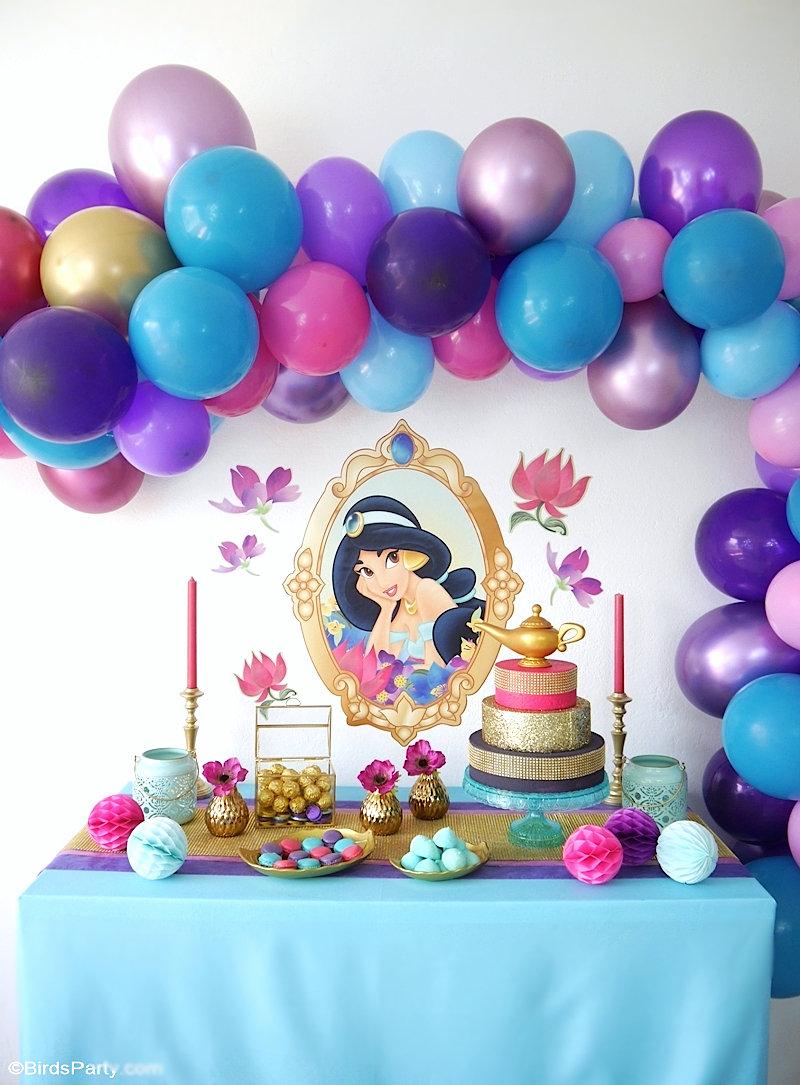 Fête d'Anniversaire Princesse Jasmine
