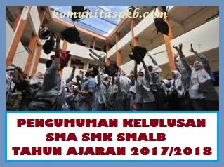 Penjagaan Kondusivitas Pasca Pengumuman Kelulusan Peserta Didik SMA/SMK/SMALB Tahun 2018