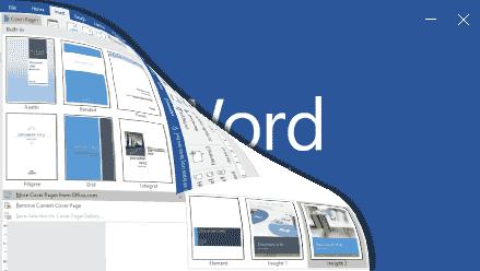 Cara Cepat dan Mudah Membuat Halaman Cover di Word 2016