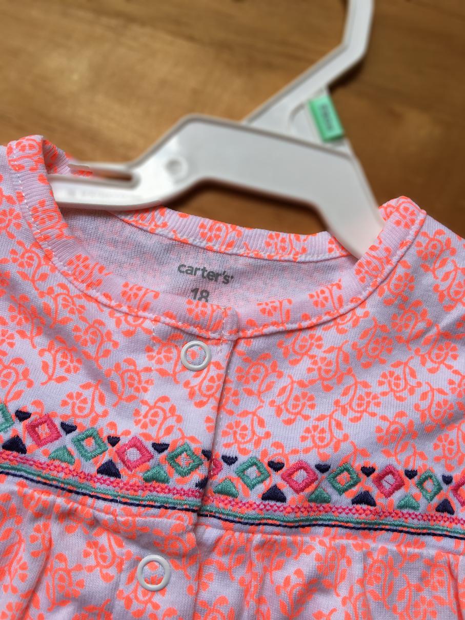 Bodysuit bé gái , hàng xuất xịn, hiệu Carter's made in cambodia.