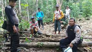 Cegah Penebangan Pohon Secara Liar, Kapolsek Gilireng Laksanakan Patroli Bersama Warga