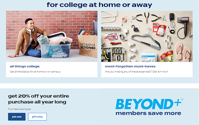 Bed Bath and Beyond Printable Coupon 20 Off In Store Sept 2020