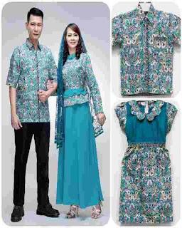 Baju Gamis Batik Untuk Pesta Pernikahan