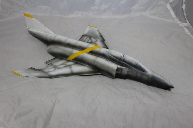 F-4B Phantom II,Eduard 1/48, La réalisation de la décoration.