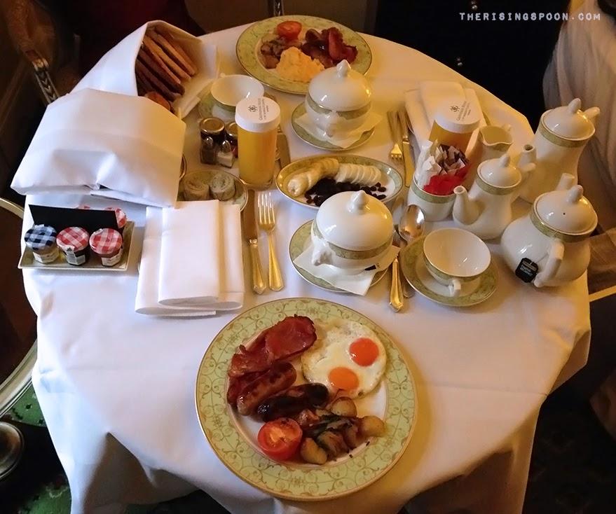 English Breakfast in London, England | therisingspoon.com