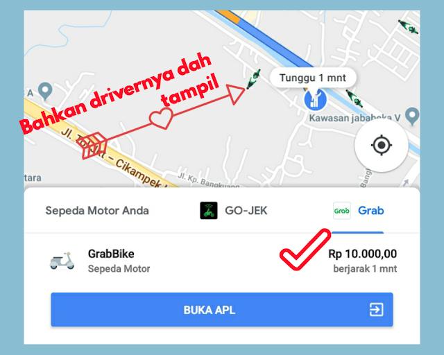 Gambar fitur terbaru dari google maps