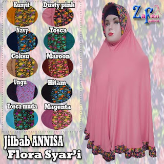 Jilbab-annisa-flora-bahan-zoya-murah