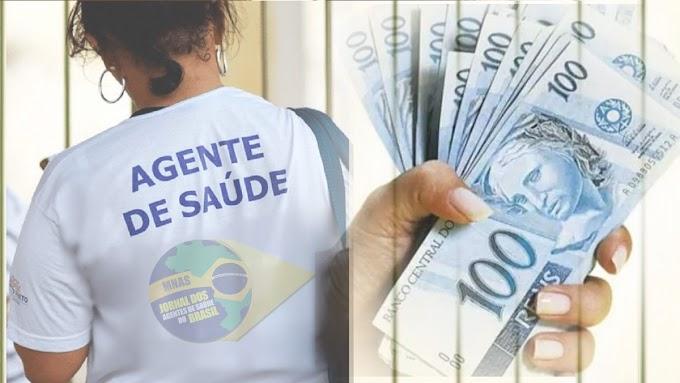 Ministério da Saúde Fixa o valor do incentivo de custeio para Agentes Comunitários de Saúde (ACS) em R$ 1.400,00.