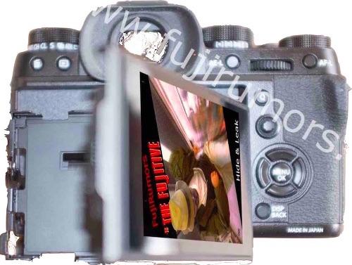 Fujifilm X-T2 сзади