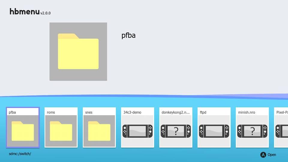 HOMEBREW SWITCH] Homebrew Launcher v2 0 0 Nintendo Switch - Nova