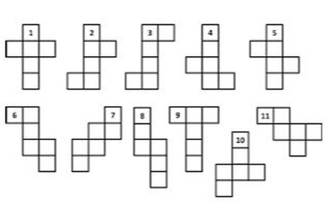 contoh jaring-jaring kubus