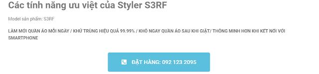 Các tính năng ưu việt của Styler S3RF