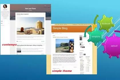 Sejarah template default blogspot dari masa ke masa