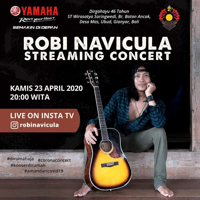 Live Streaming Konser Robi Navicula