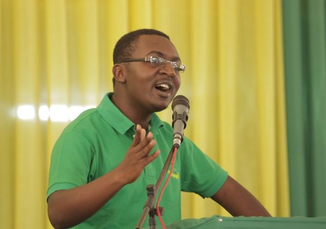 Herry James Mwenyekiti Mpya Wa UVCCM , Makamu Wake Ni Tabia Maulid Mwita