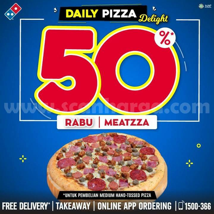Domino's Pizza Promo Rabu: Best Seller Meatzza hanya Rp 39rb-an per Pizza