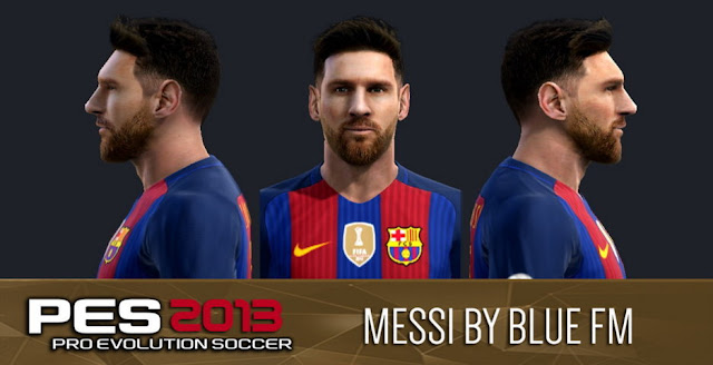 PES 2013 Lionel Messi New Face