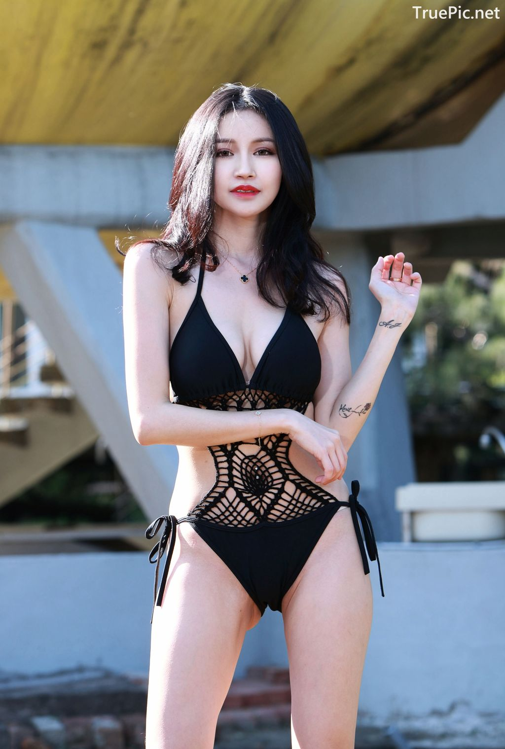 Image-Taiwanese-Model-艾薉-Long-Legs-And-Lovely-Bikini-Girl-TruePic.net- Picture-6