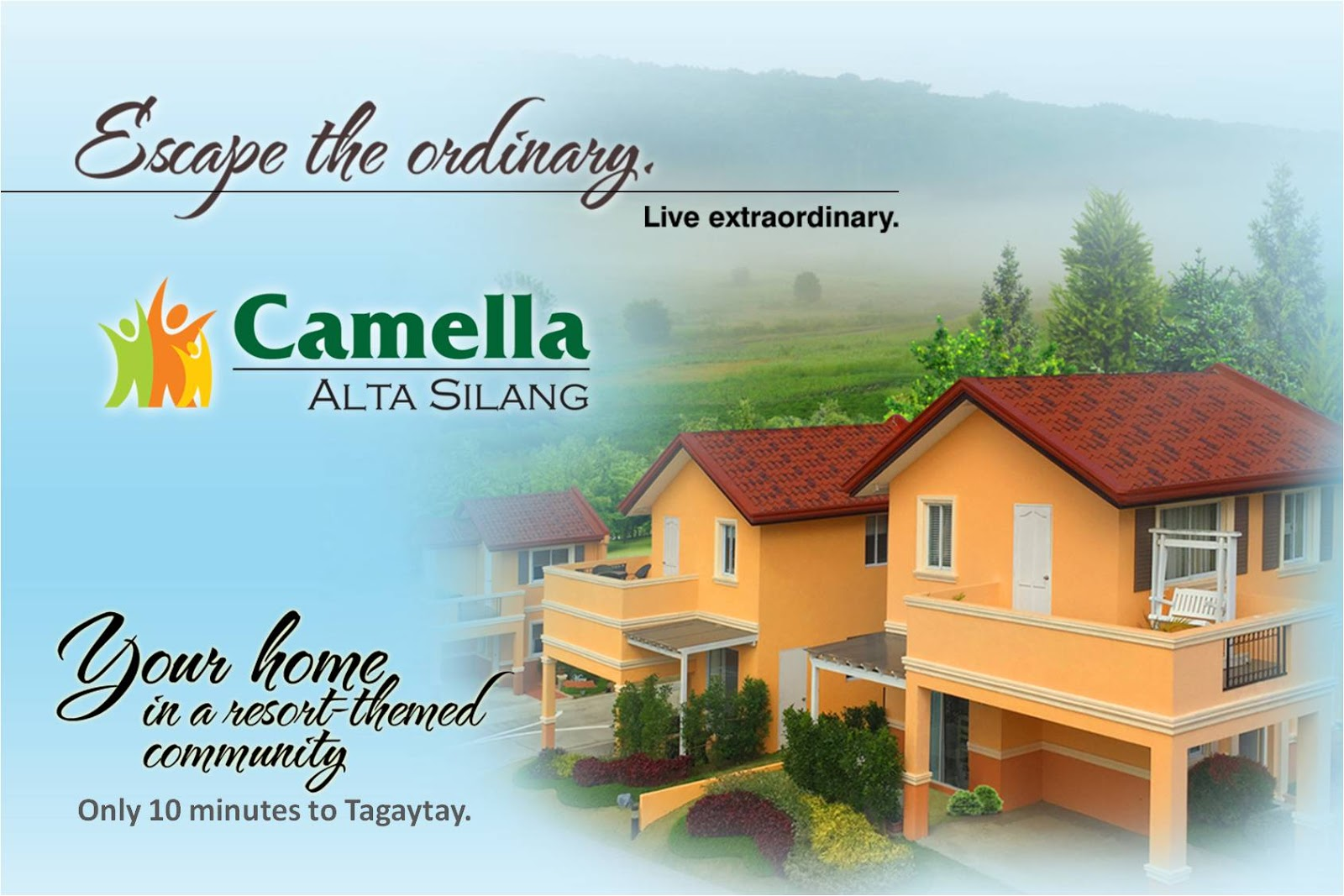Camella homes house and lot near tagaytay city - Camella Alta Silang House For Sale In Silang Cavite Very Near Tagaytay City