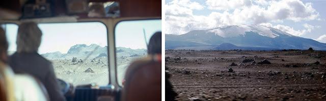 Hekla from Icelandic Mountain Bus