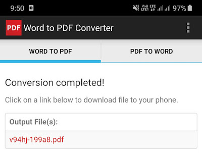 Download the converted PDF file