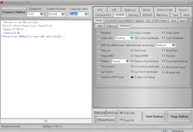 frp asus x018da unlock by miracle