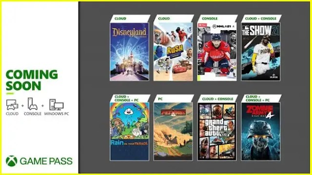 Grand Theft Auto V is one of the games coming to Xbox Game Pass on April 8