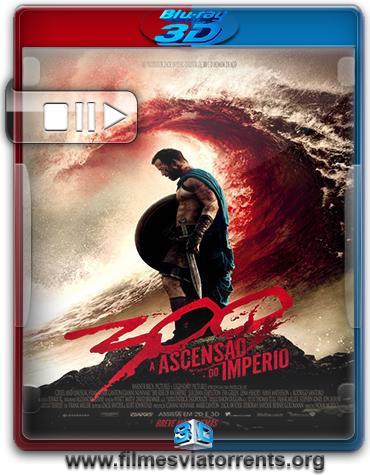 300: A Ascensão do Império Torrent - BluRay Rip 3D HSBS 1080p Dual Áudio 5.1 (2014)