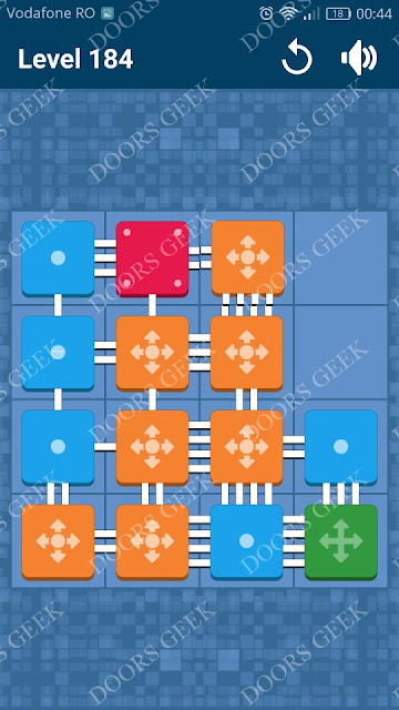 Connect Me - Logic Puzzle Level 184 Solution, Cheats, Walkthrough for android, iphone, ipad and ipod