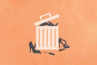 Como encaixotar roupas, descarte oque não vai usar