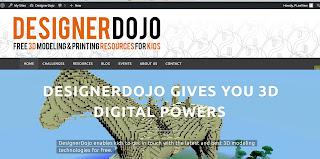www.designerdojo.ie home page