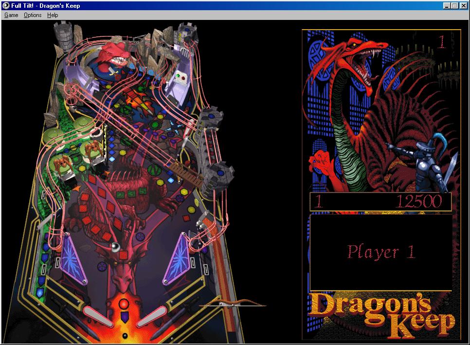 Dragon's Keep, o Cueva del Dragón.