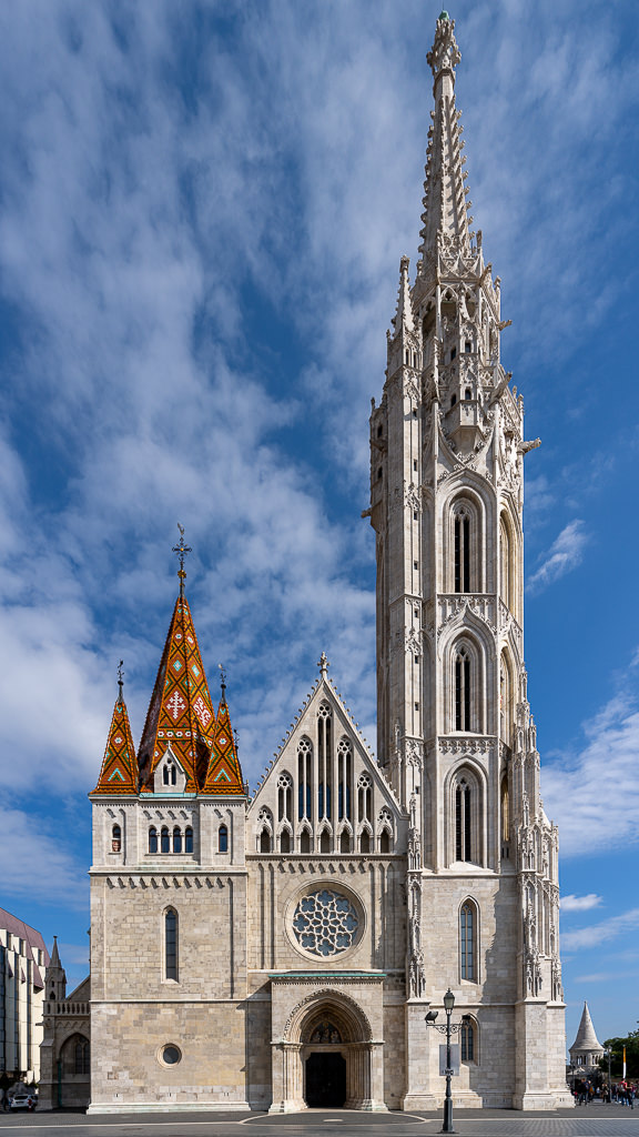 a photo of matthias church in budapest hungary by daniel south photography