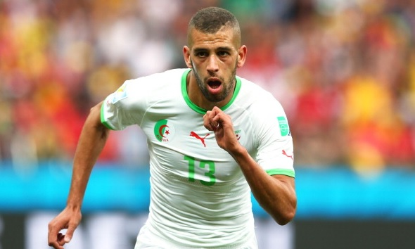 Islam Slimani on Premier League radar