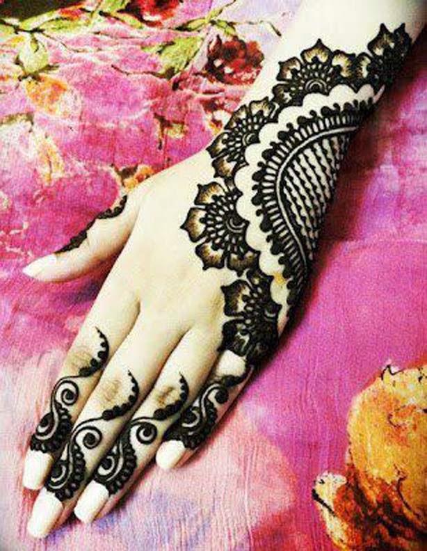 Latest Mehndi Designs For New Year 2014 | WFwomen  Latest Mehndi D...