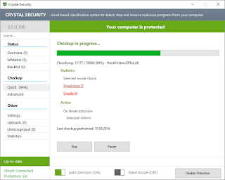 Crystal Security 3.5 Anti-Malware