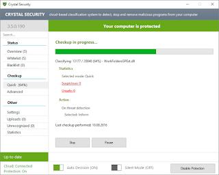 مضاد البرمجيات الخبيثة Crystal Security 3.5 Anti-Malware