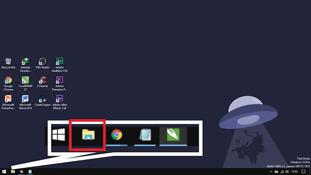 open your file explorer in windows