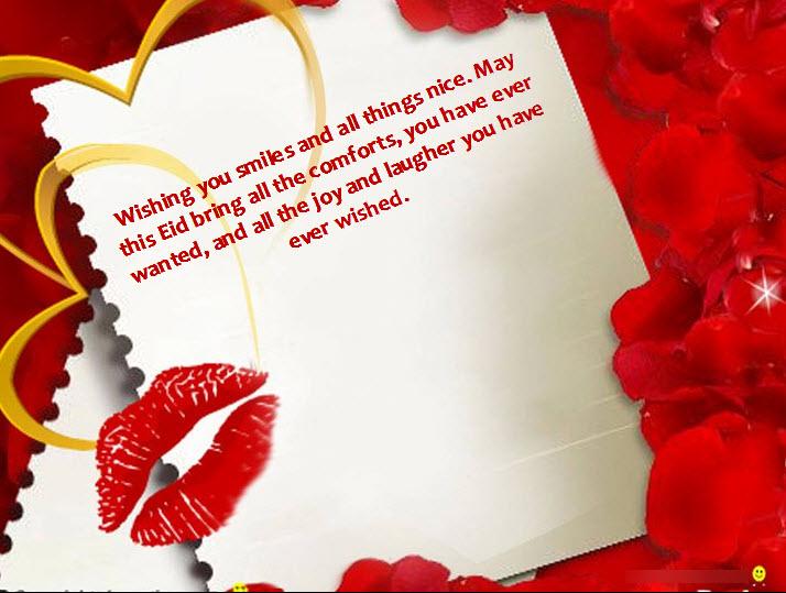beautiful eid card happy eid mubarak greeting wishes