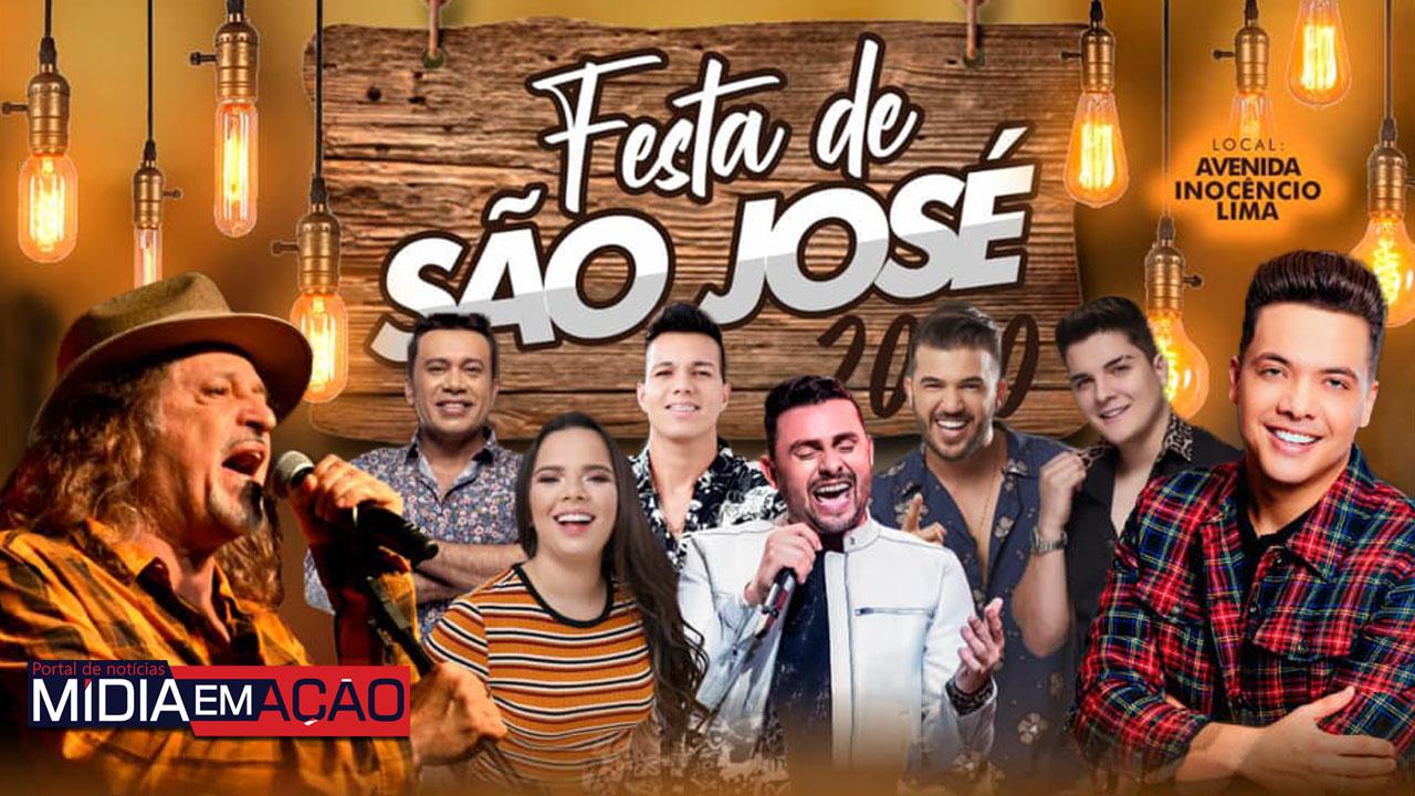 Custódia: festa de São José 2020 conta com shows de Wesley Safadão, Alceu Valença e Mano Walter