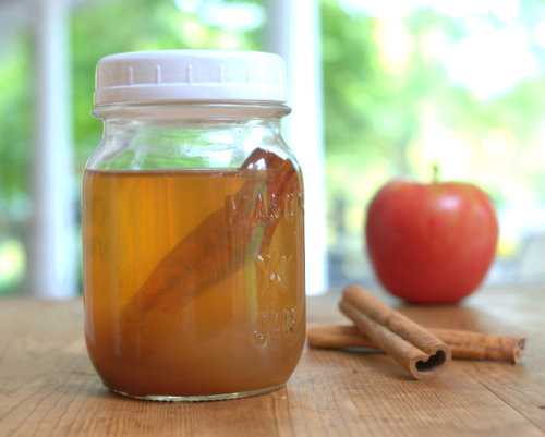 Apple Cider Vinaigrette ♥ AVeggieVenture.com, a fall favorite, really pops with flavor. Weight Watchers Friendly. Vegan. Low Carb.