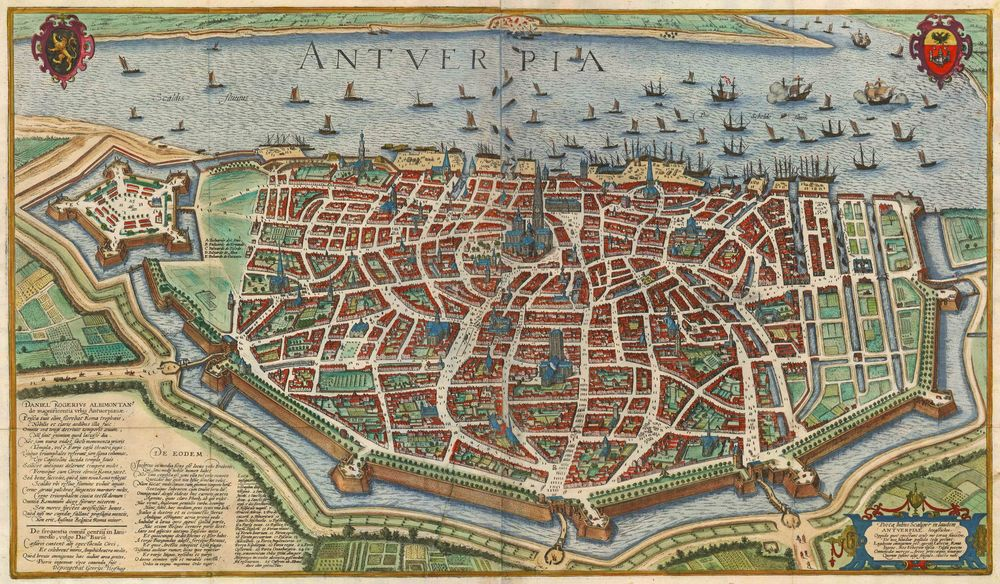 Antwerp in the 17th century.