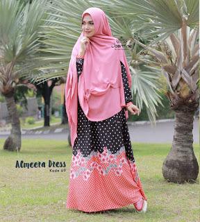 gamis jasmine hijab murah