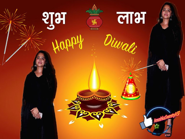 Happy Diwali Anushka Shetty