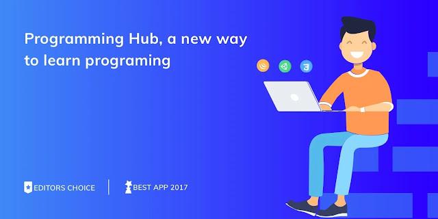 تنزيل تطبيق Programming Hub: Learn to Program تعلم البرمجة الكاملة مجانًا ومن خلال تطبيق واحد