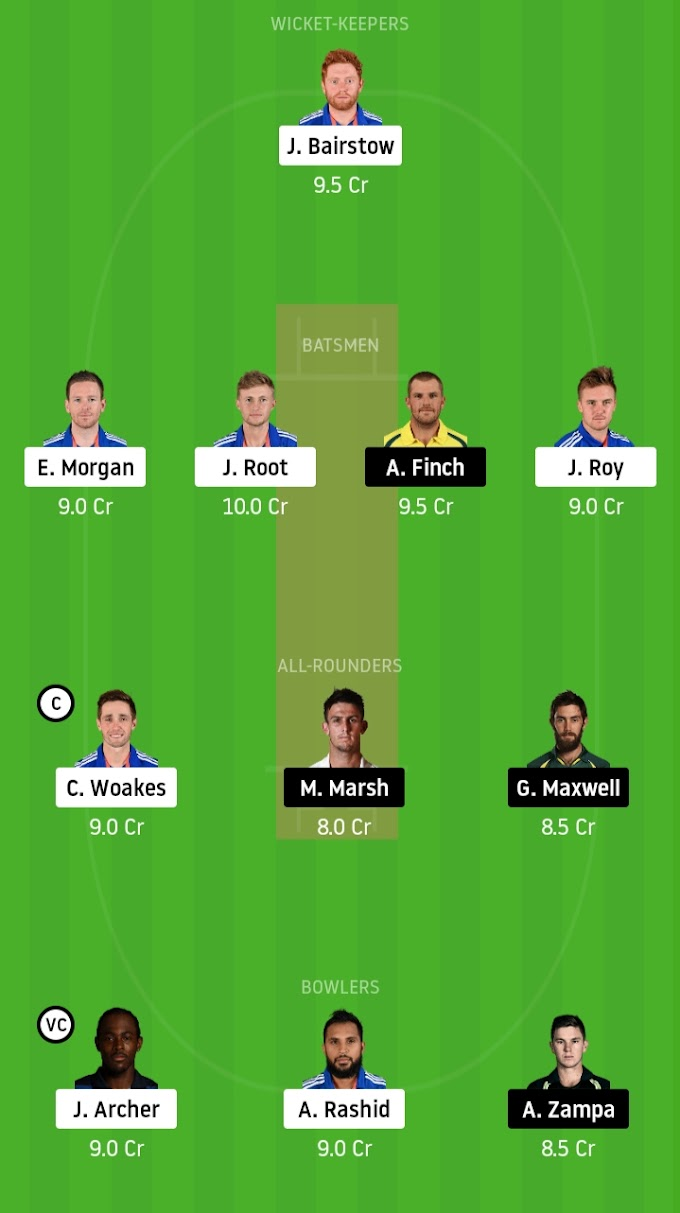 Everything You Need To Know About England vs Australia 3rd ODI Dream11 Prediction, Who Will Win ?