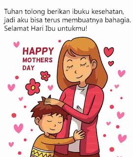 kartu ucapan selamat hari ibu